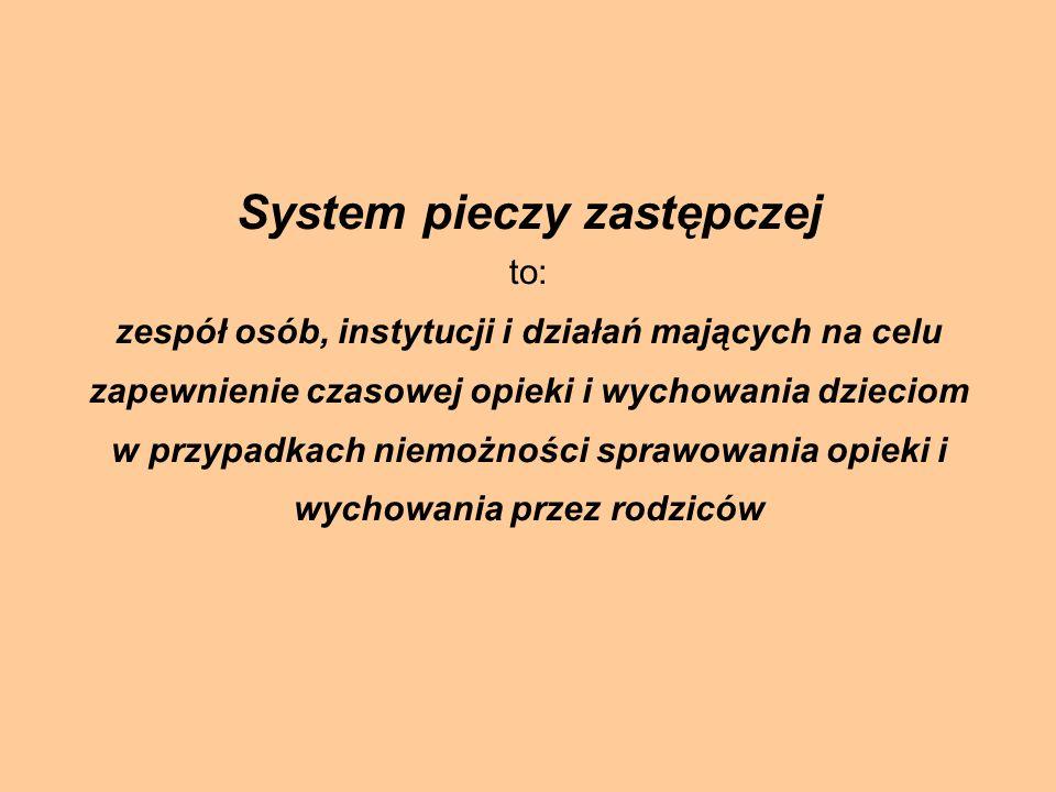 System pieczy zastępczej