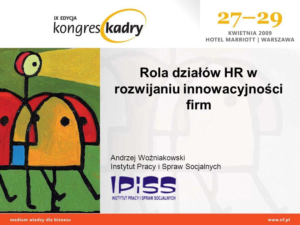 Rola działów HR w rozwijaniu innowacyjności firm