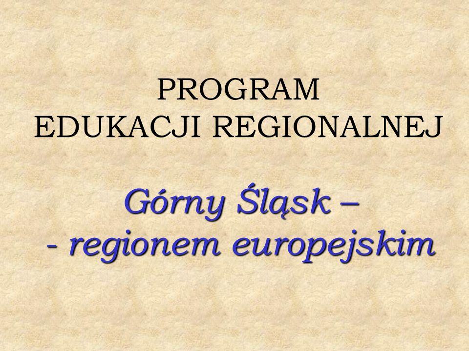 - regionem europejskim