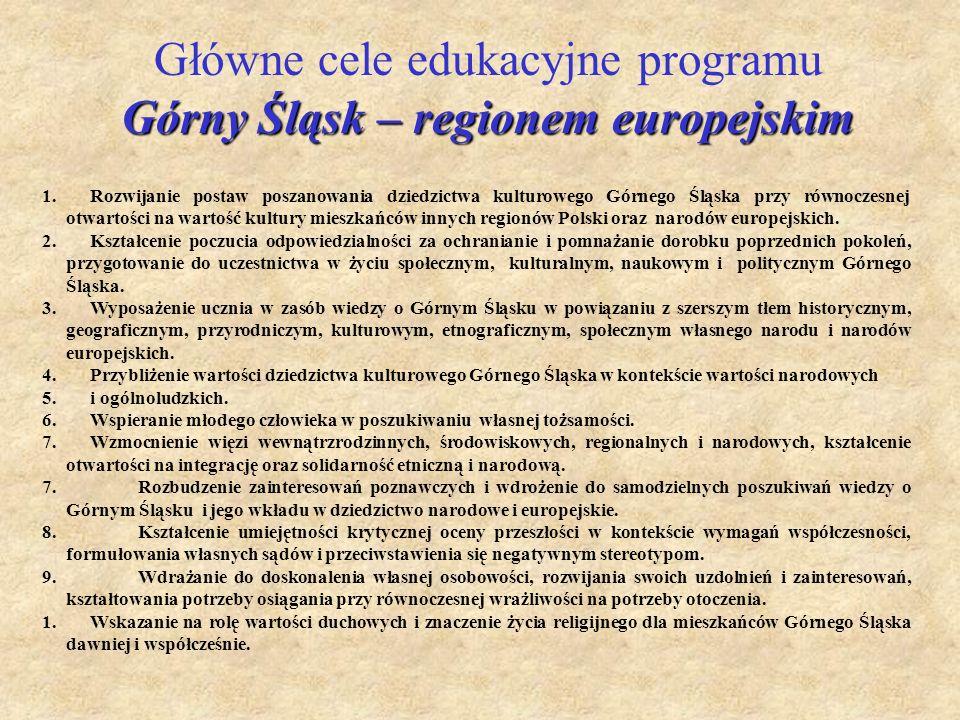 Górny Śląsk – regionem europejskim