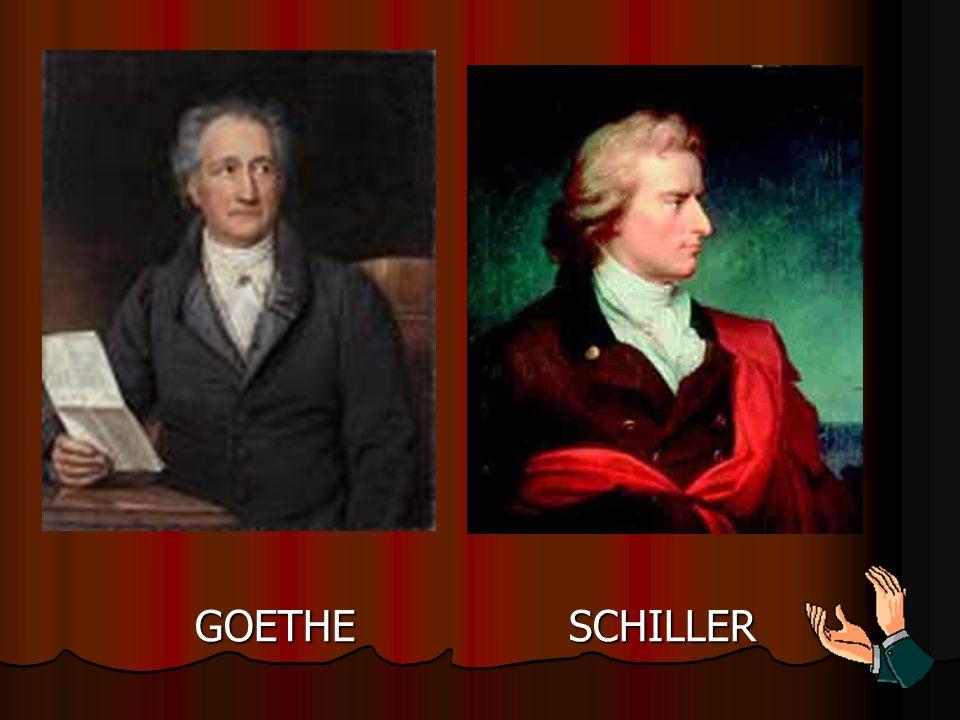 GOETHE SCHILLER
