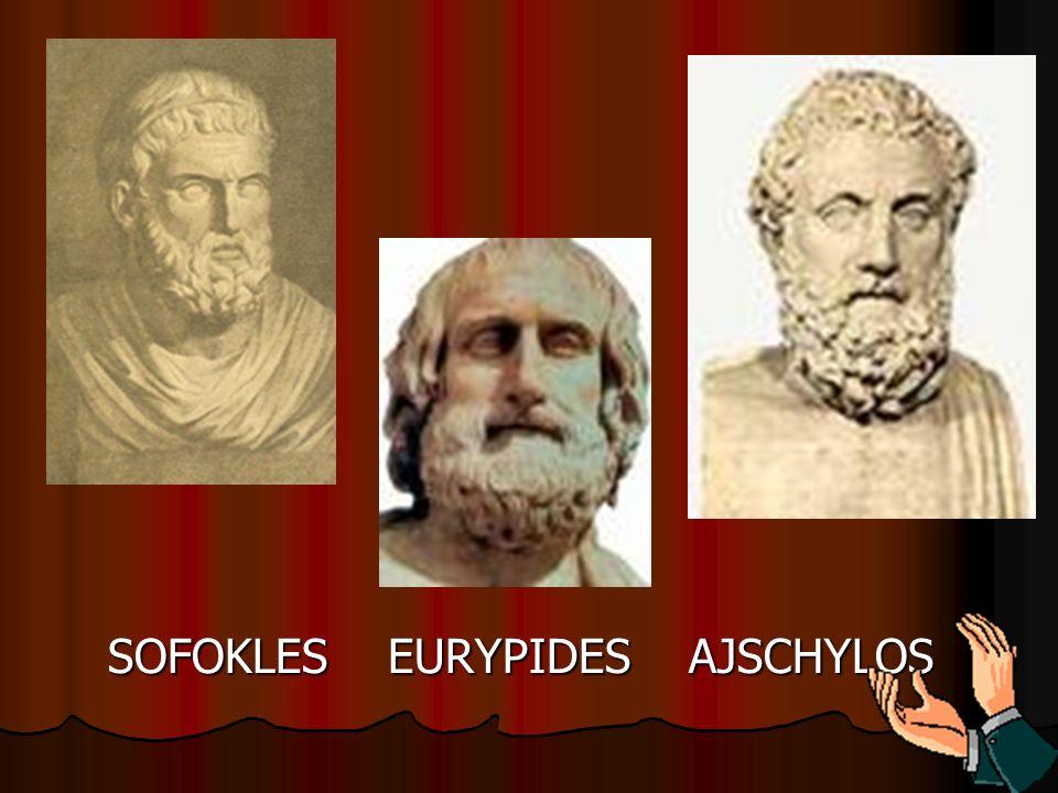 SOFOKLES EURYPIDES AJSCHYLOS