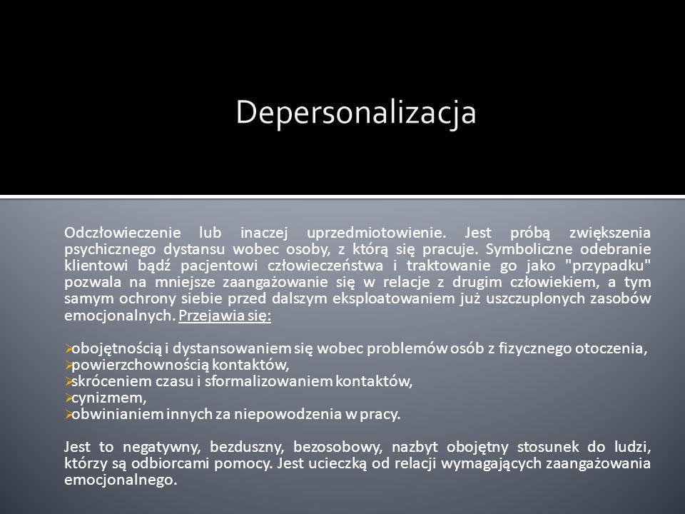 Depersonalizacja