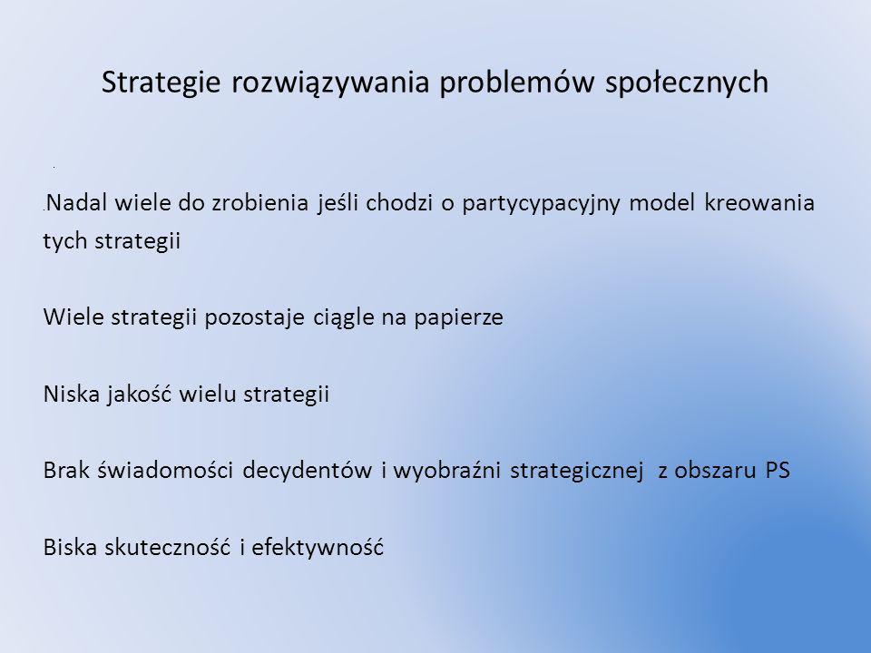 Strategie rozwiązywania problemów społecznych