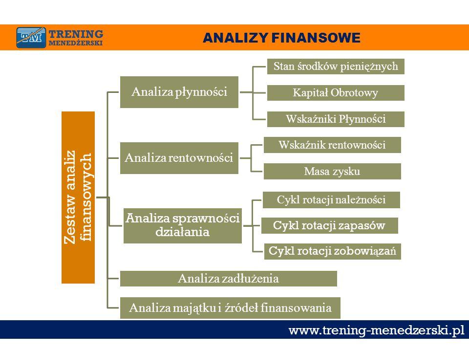 Zestaw analiz finansowych