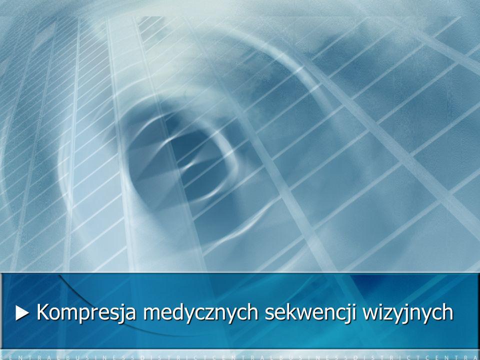  Kompresja medycznych sekwencji wizyjnych