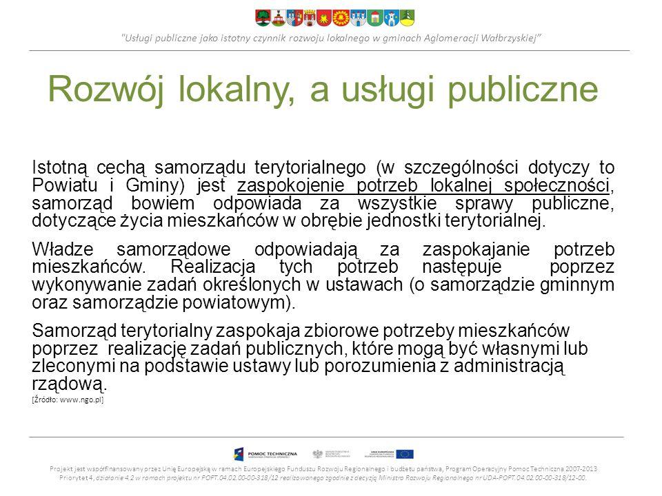 Rozwój lokalny, a usługi publiczne