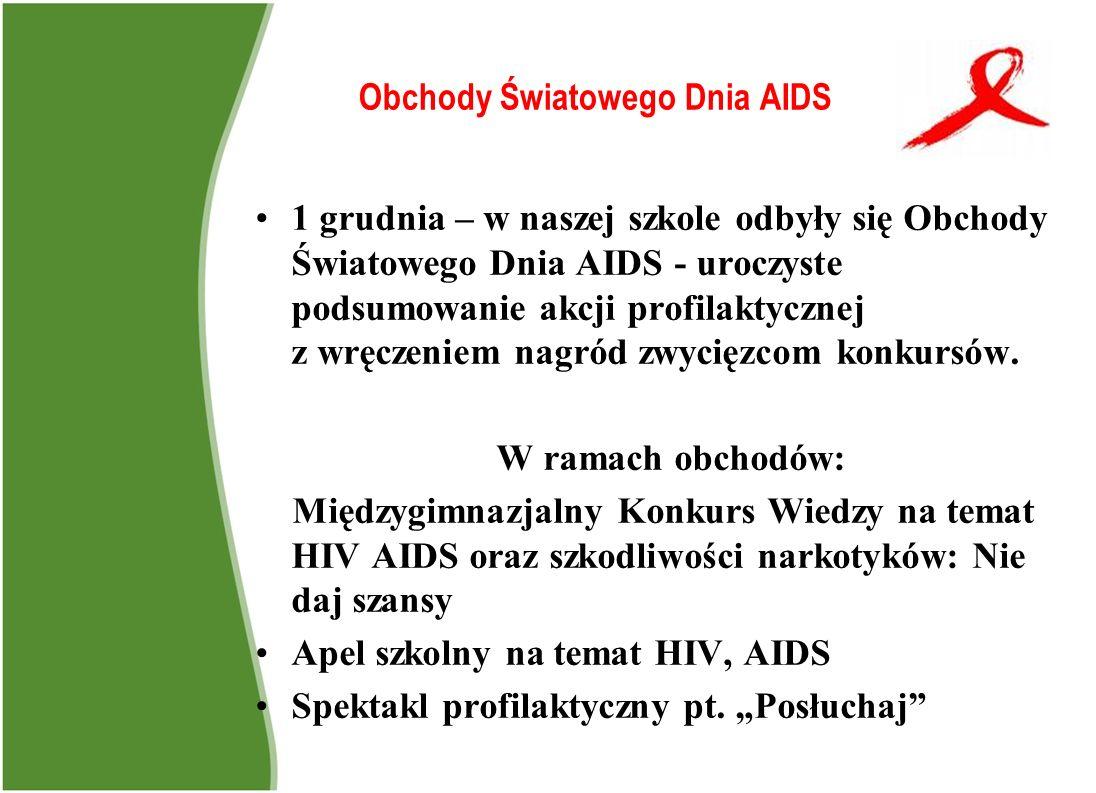 Obchody Światowego Dnia AIDS
