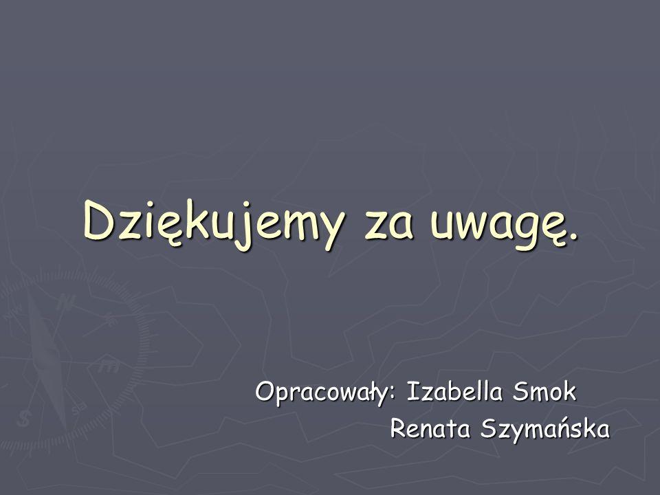 Opracowały: Izabella Smok Renata Szymańska