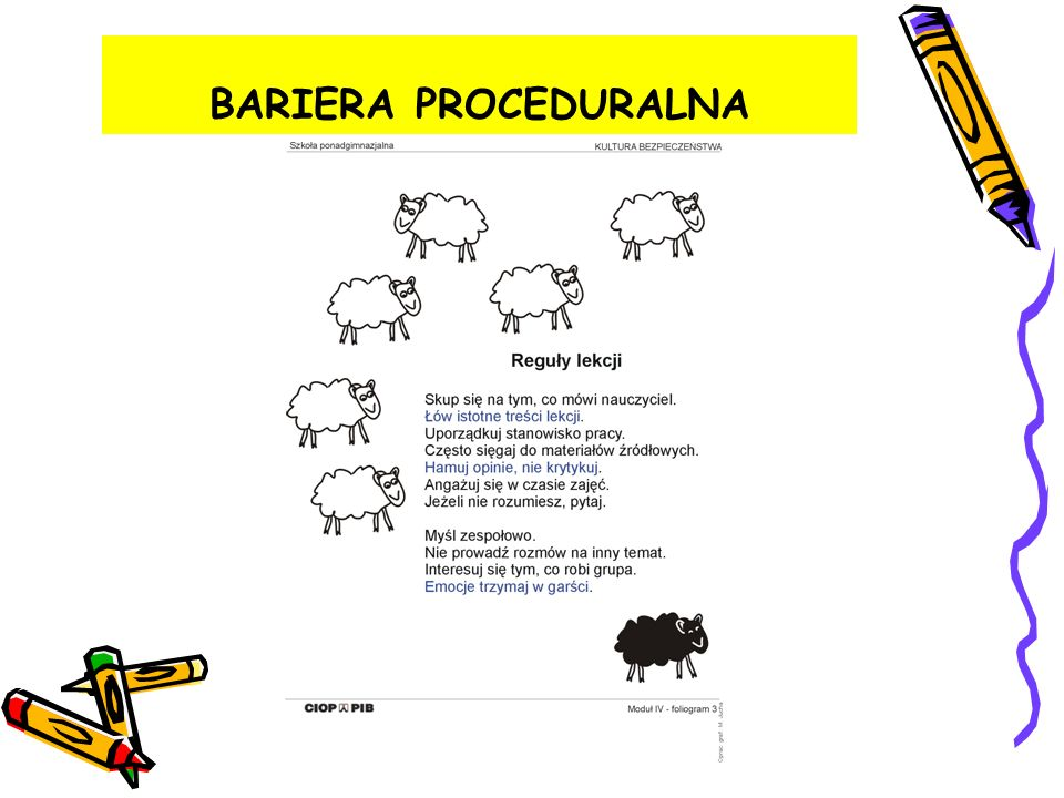 BARIERA PROCEDURALNA