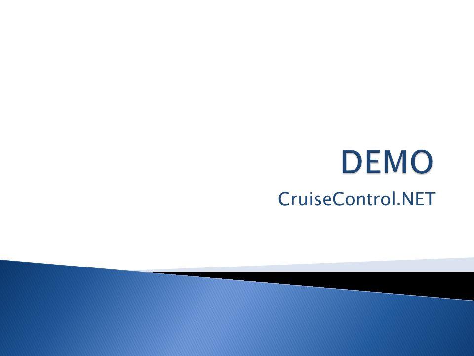 DEMO CruiseControl.NET