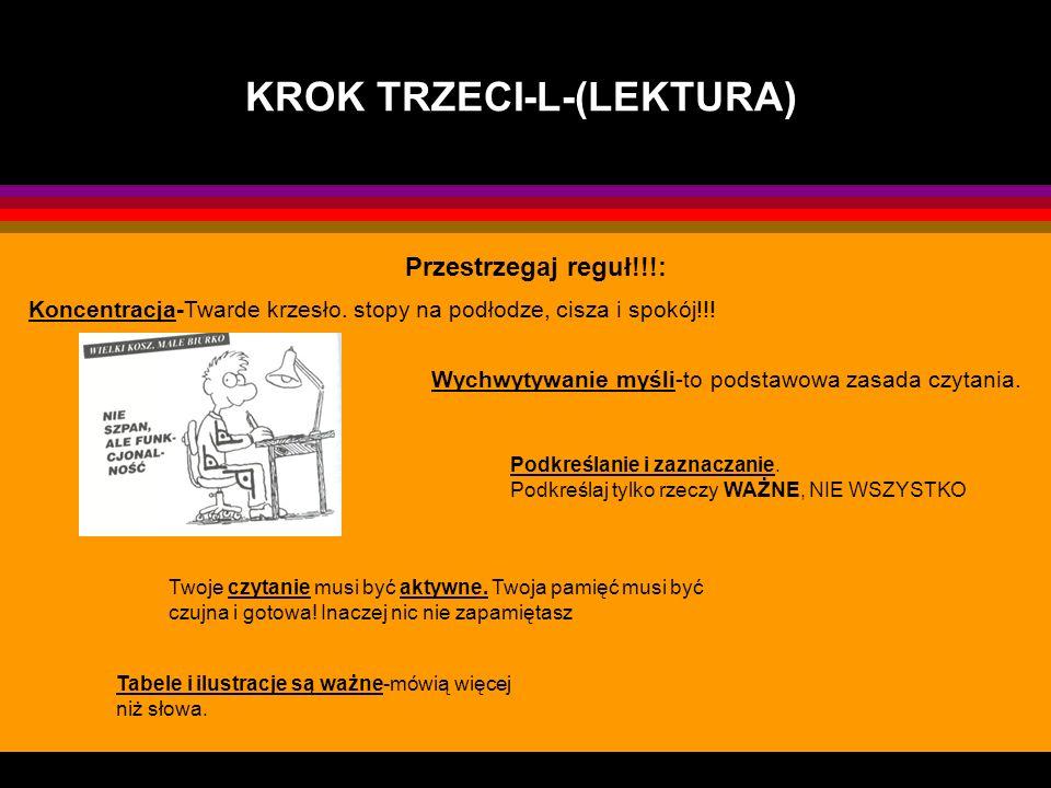 KROK TRZECI-L-(LEKTURA)