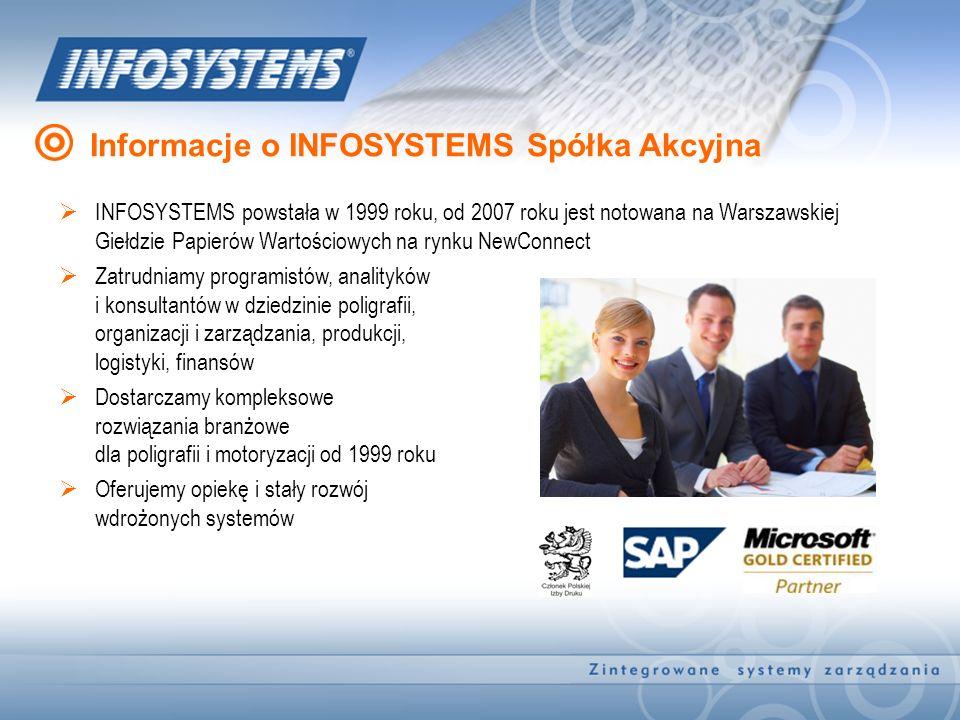 Informacje o INFOSYSTEMS Spółka Akcyjna