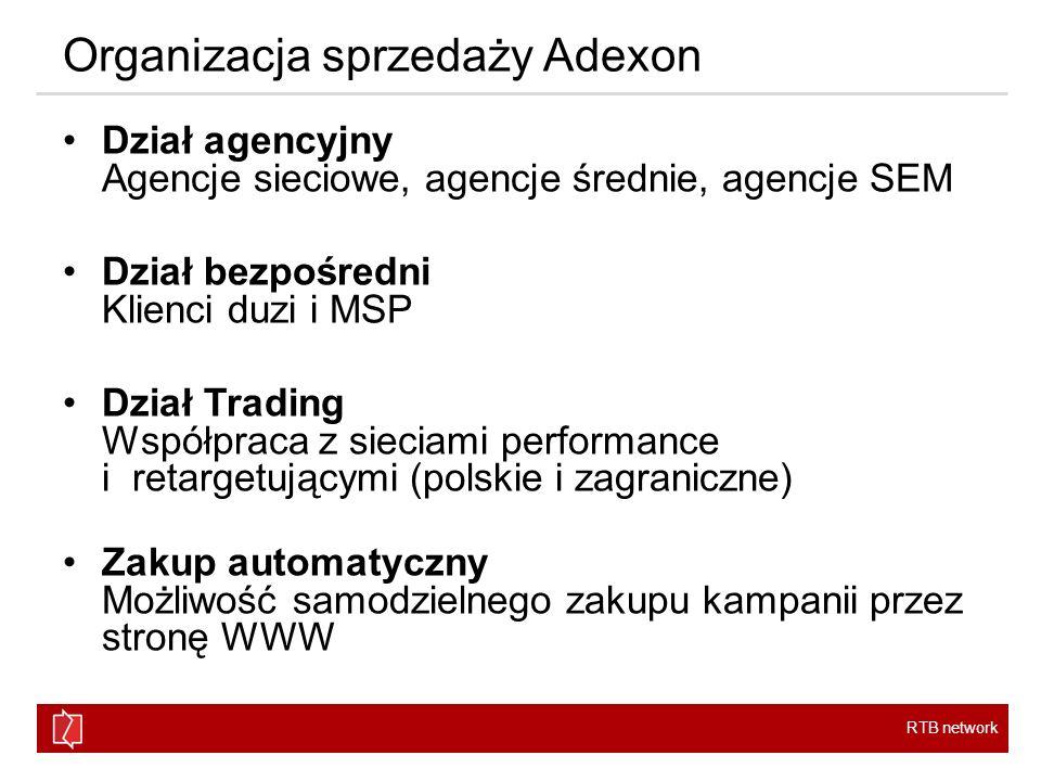 Organizacja sprzedaży Adexon