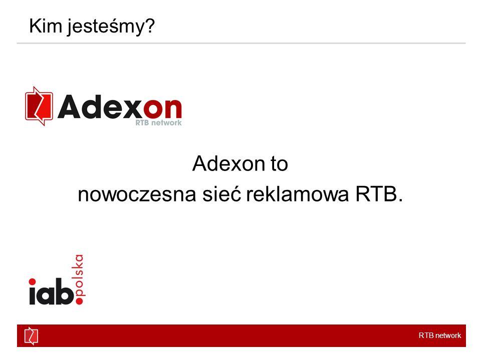 Adexon to nowoczesna sieć reklamowa RTB.