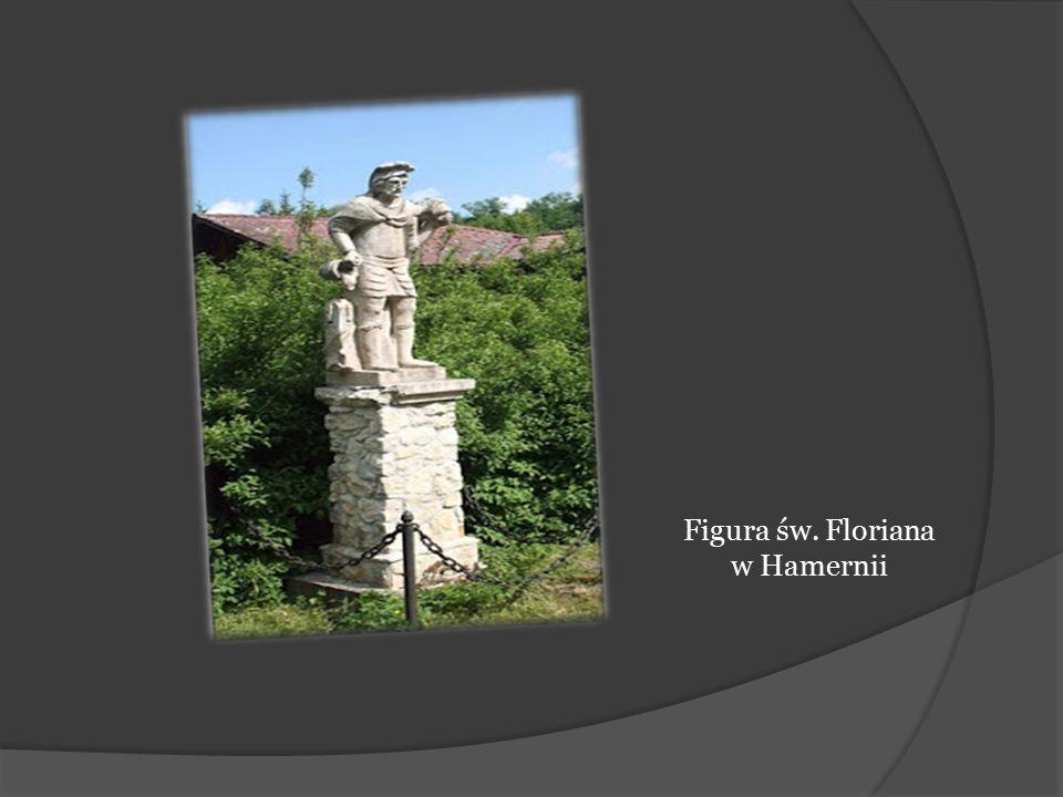 Figura św. Floriana w Hamernii