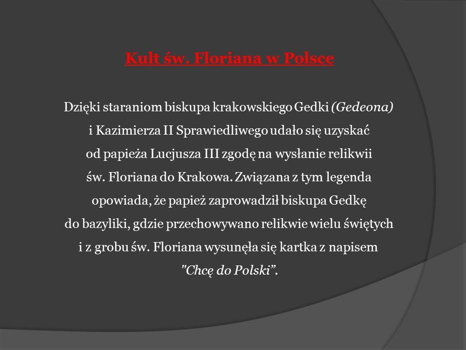 Kult św. Floriana w Polsce