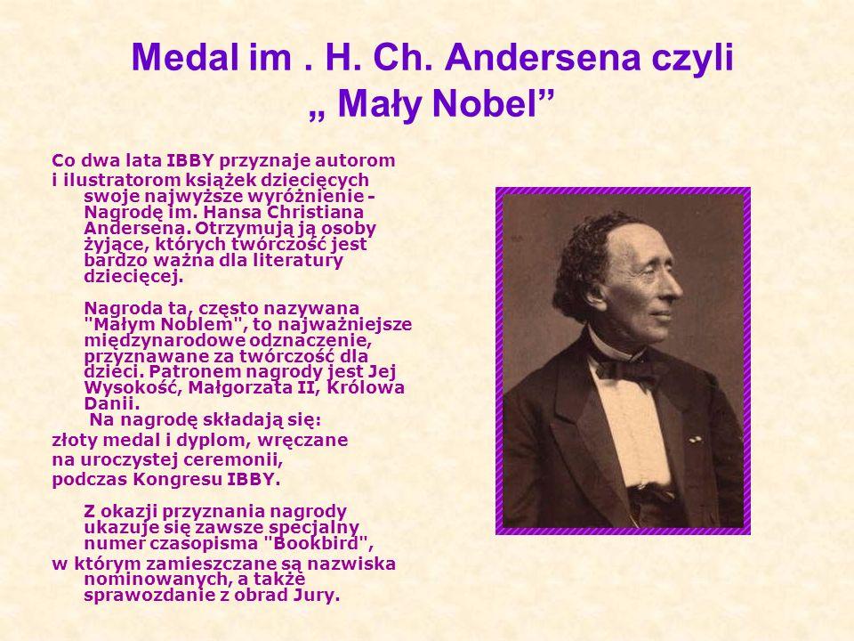 "Medal im . H. Ch. Andersena czyli "" Mały Nobel"