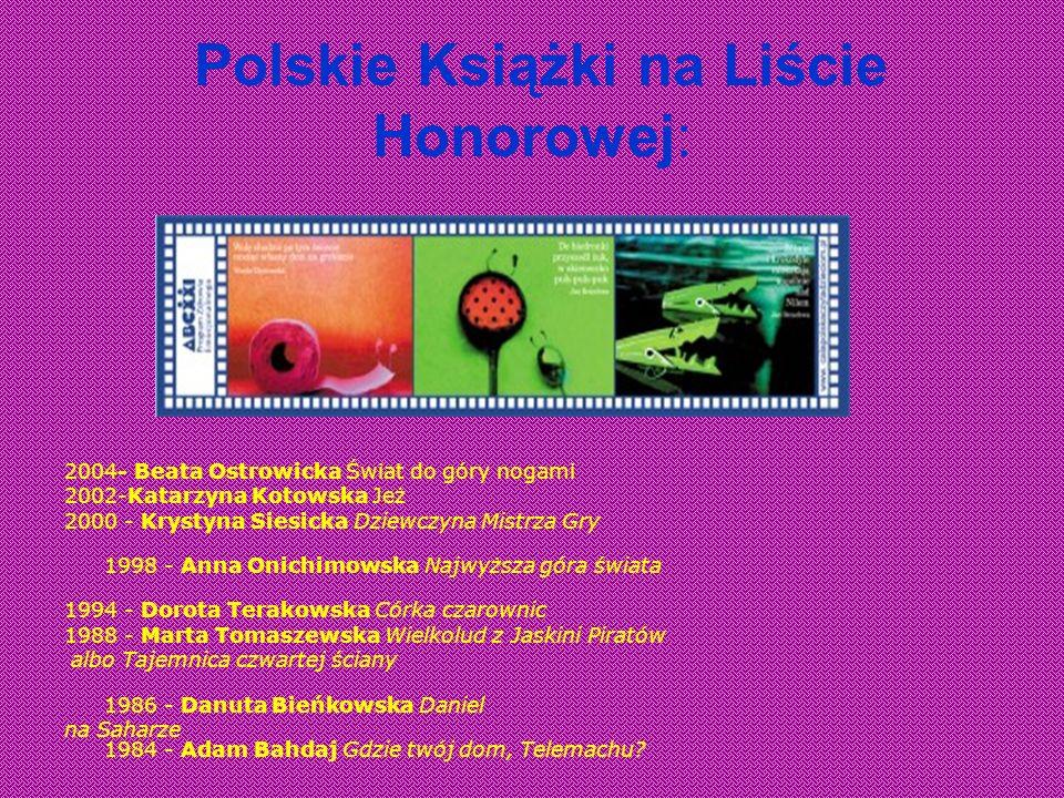 Polskie Książki na Liście Honorowej: