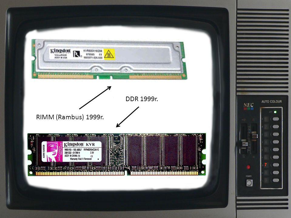 DDR 1999r. RIMM (Rambus) 1999r.