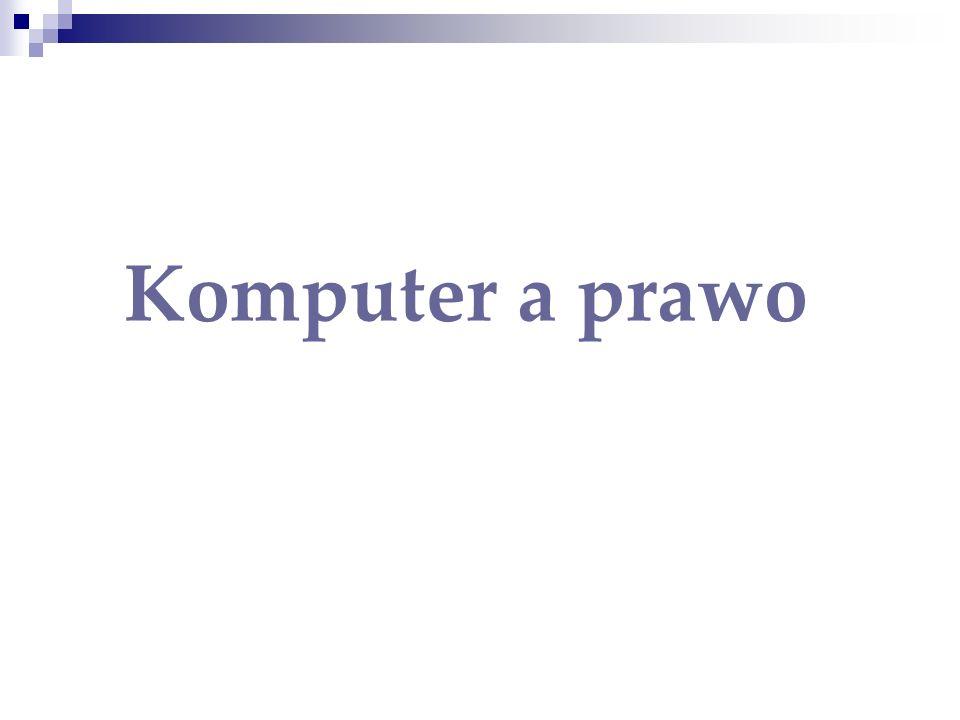 Komputer a prawo