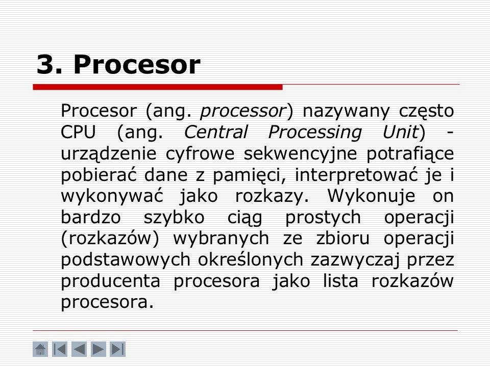 3. Procesor