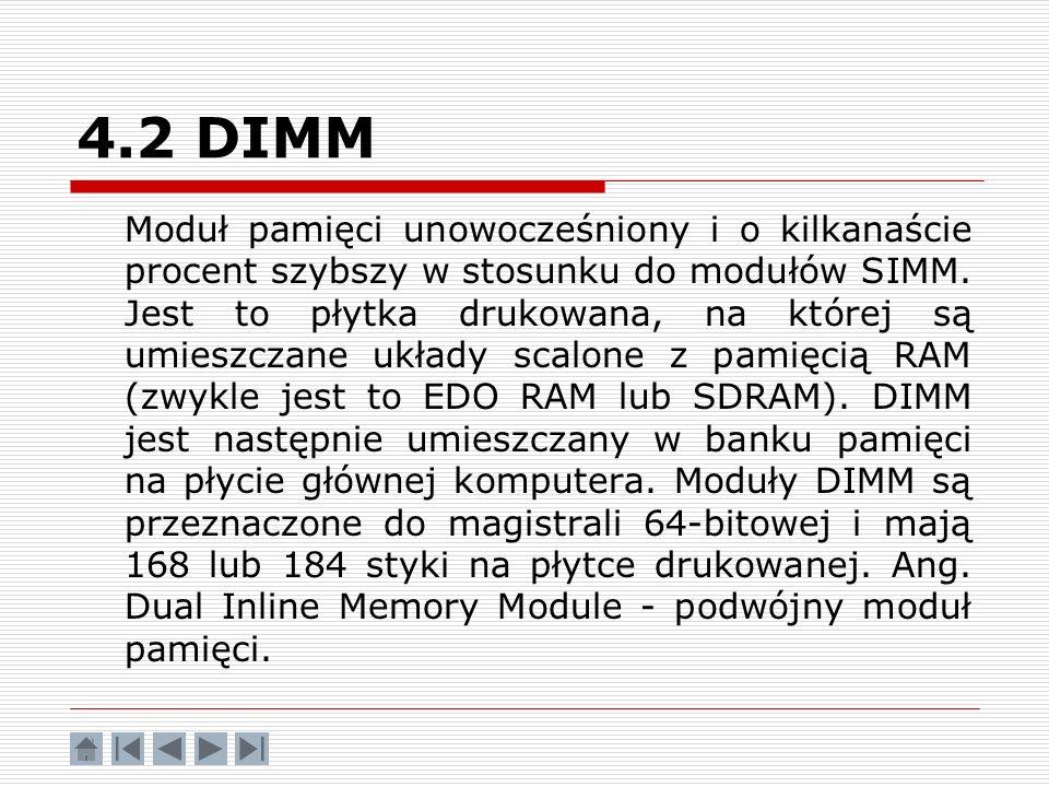 4.2 DIMM