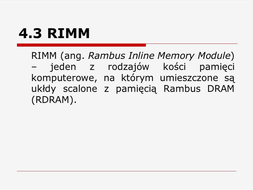 4.3 RIMM