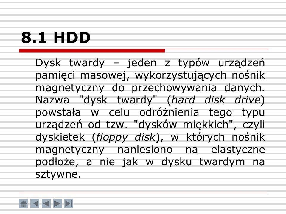 8.1 HDD