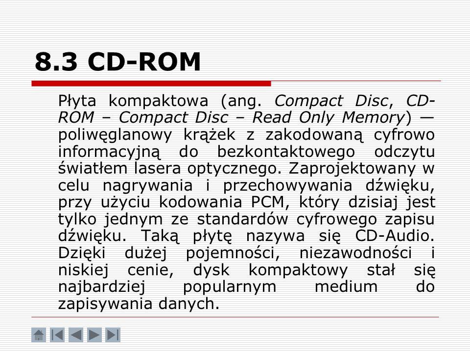 8.3 CD-ROM