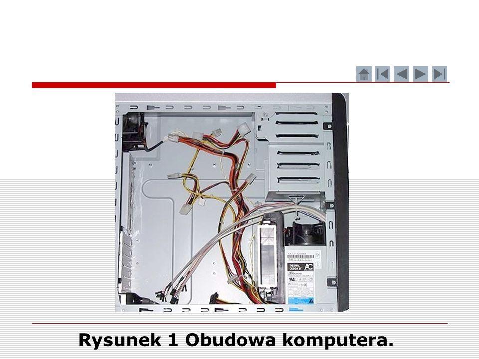 Rysunek 1 Obudowa komputera.