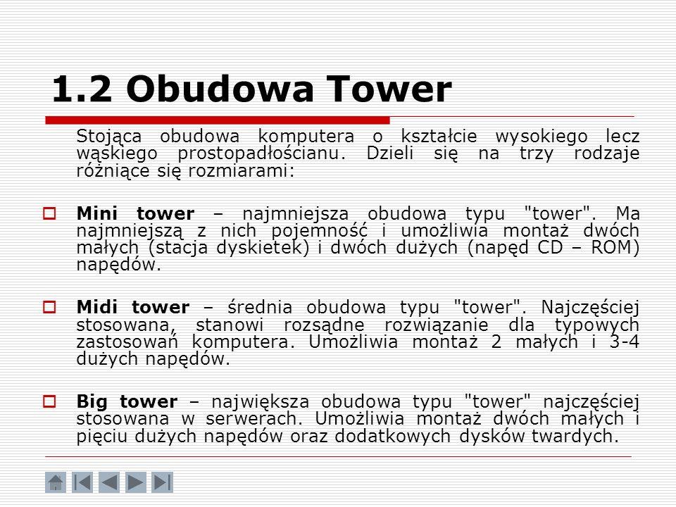 1.2 Obudowa Tower