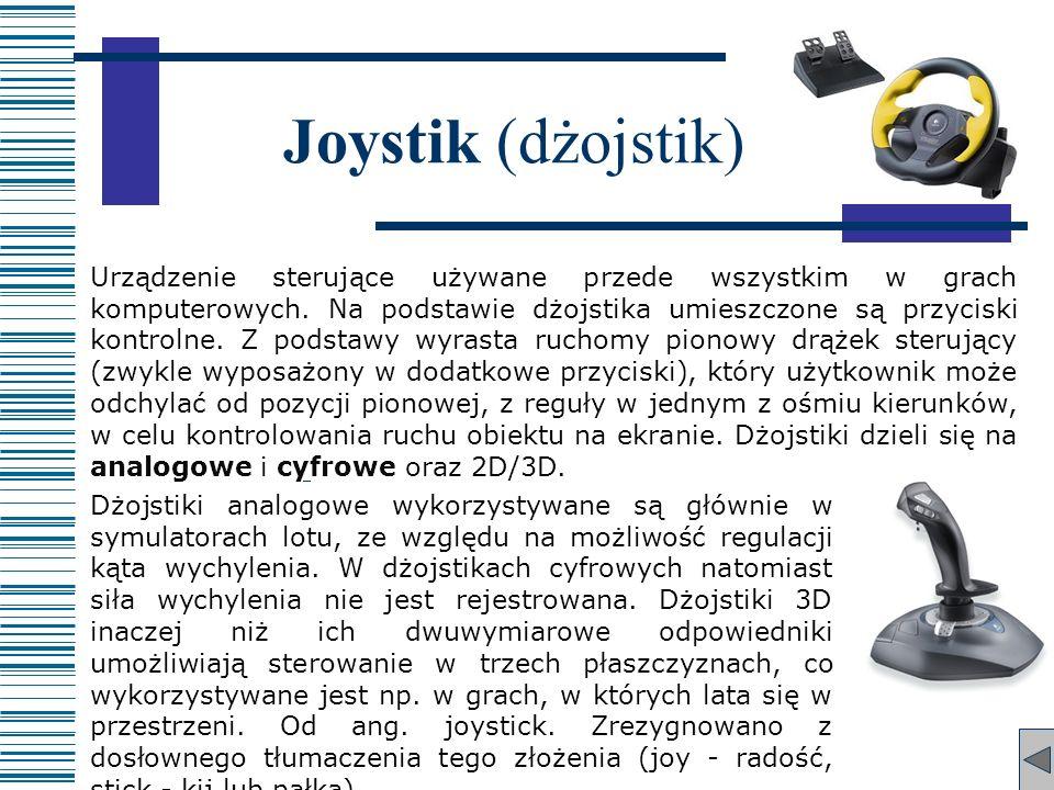 Joystik (dżojstik)