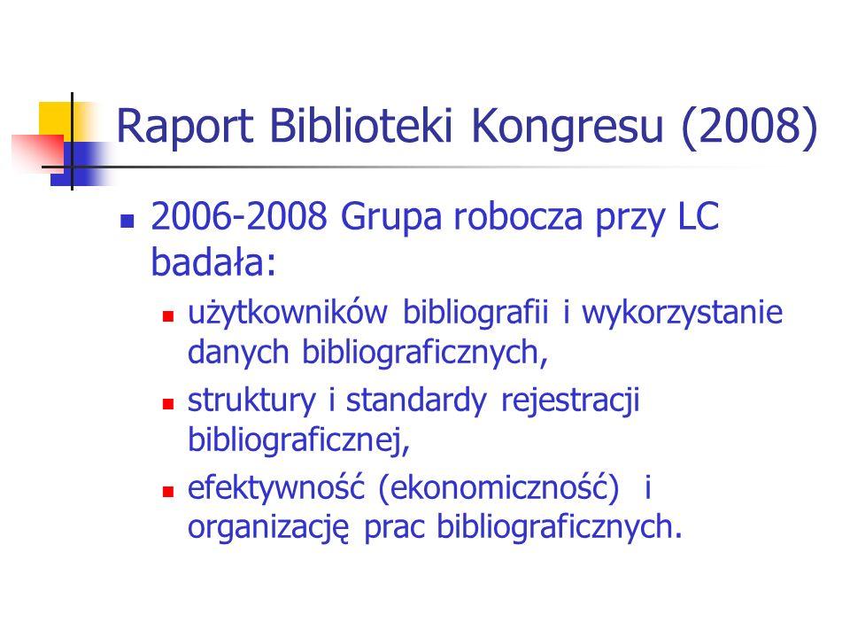 Raport Biblioteki Kongresu (2008)