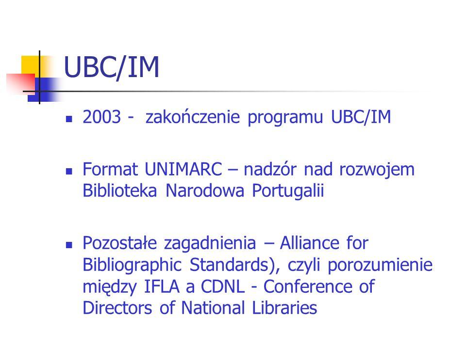 UBC/IM 2003 - zakończenie programu UBC/IM