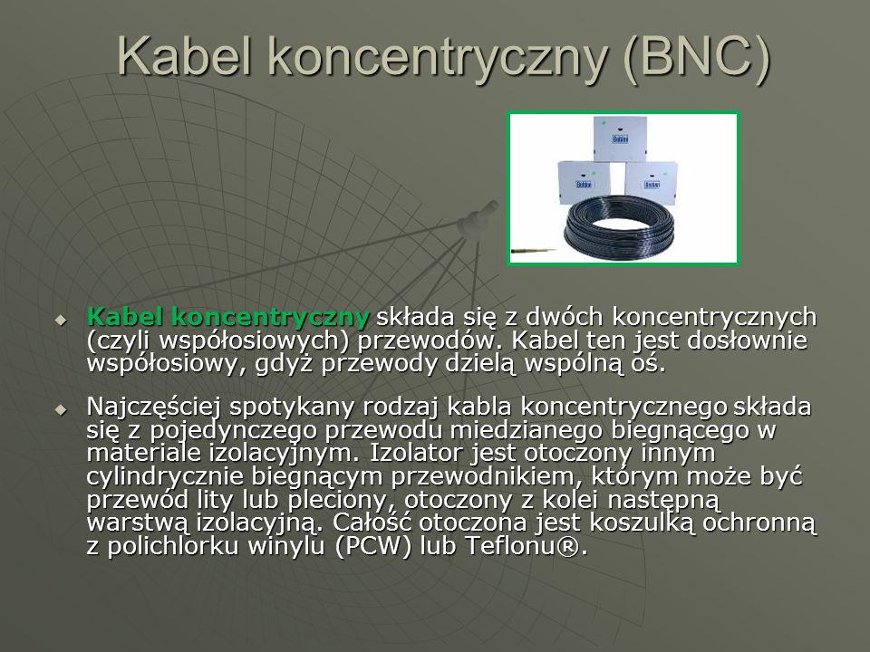 Kabel koncentryczny (BNC)