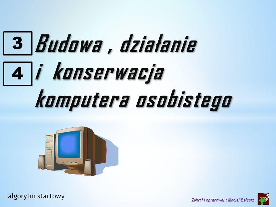 i konserwacja komputera osobistego