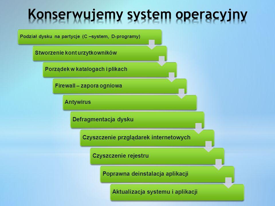 Konserwujemy system operacyjny