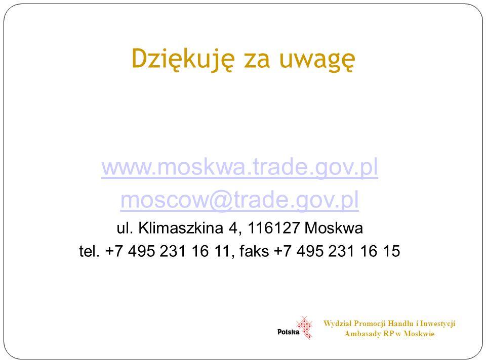Wydział Promocji Handlu i Inwestycji