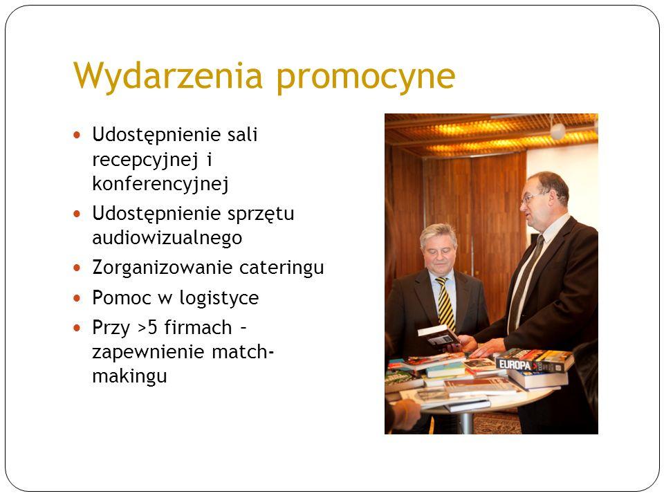 Wydarzenia promocyne Udostępnienie sali recepcyjnej i konferencyjnej