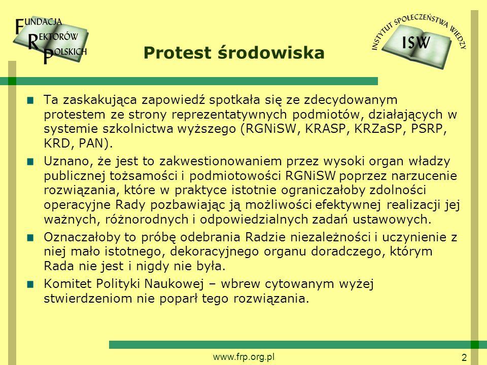 Protest środowiska