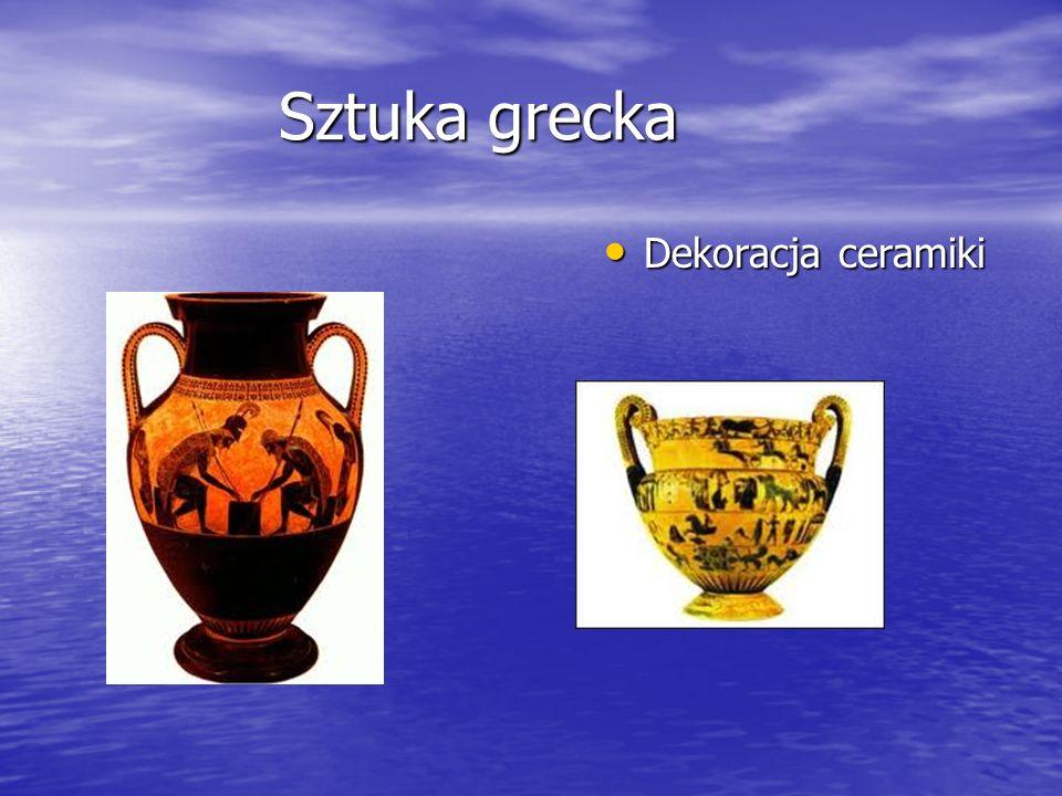 Sztuka grecka Dekoracja ceramiki