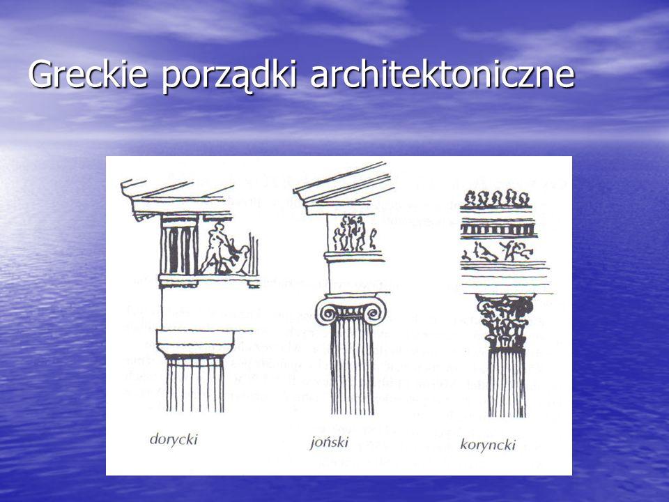 Greckie porządki architektoniczne