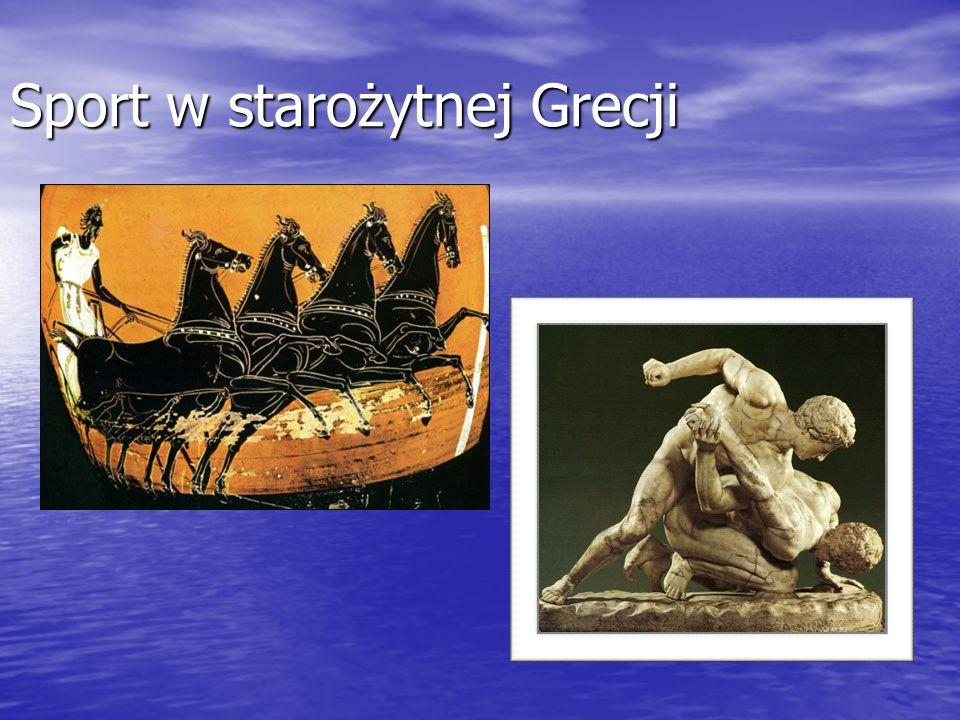 Sport w starożytnej Grecji