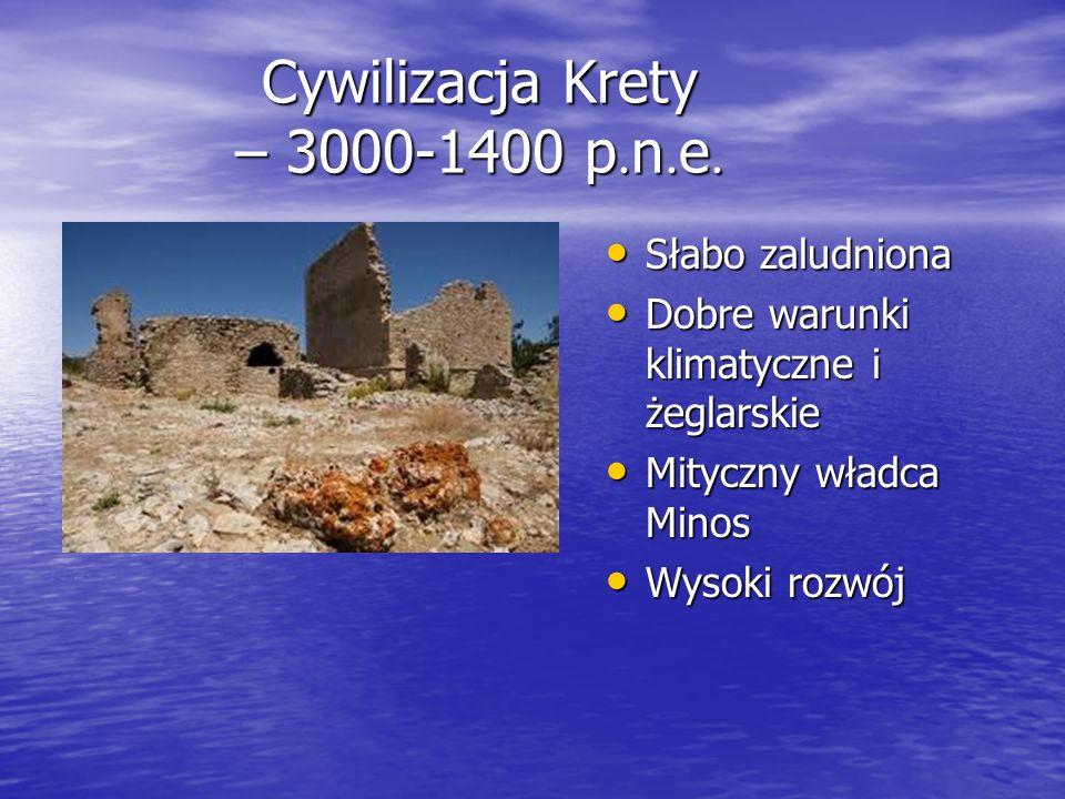 Cywilizacja Krety – 3000-1400 p.n.e.