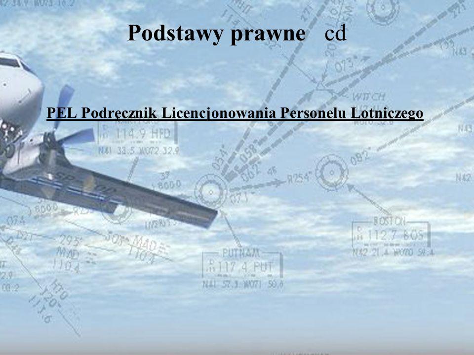 PEL Podręcznik Licencjonowania Personelu Lotniczego