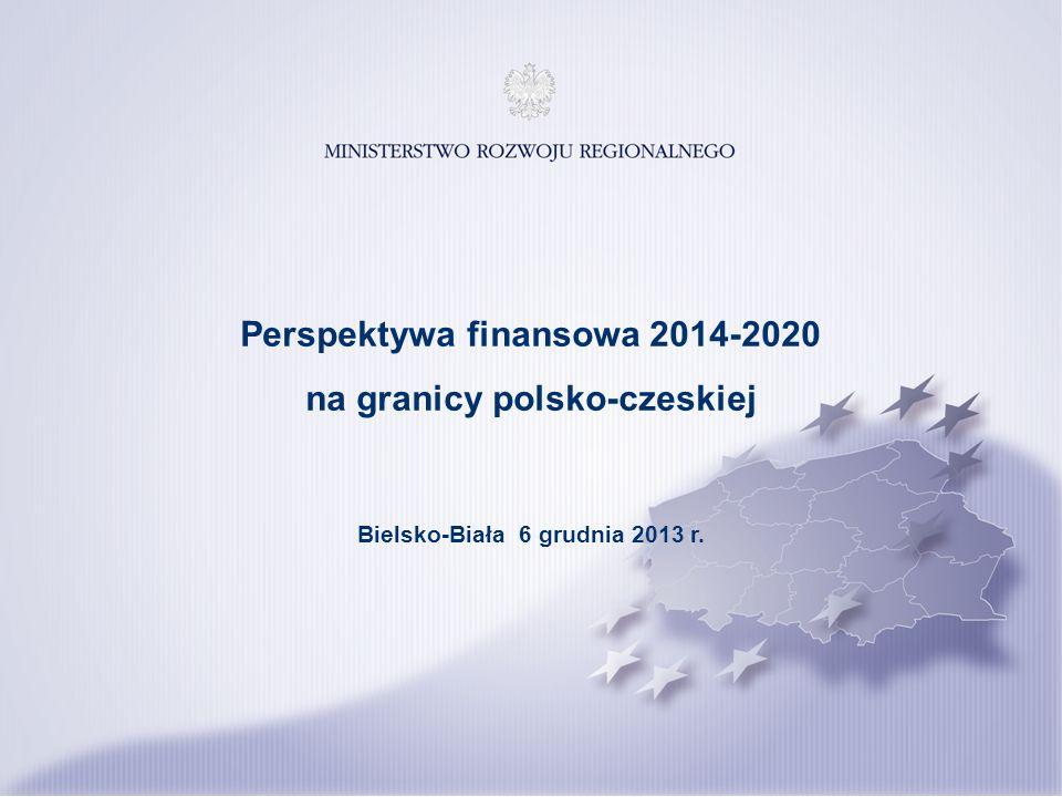 Perspektywa finansowa 2014-2020 na granicy polsko-czeskiej