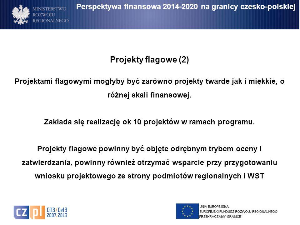 Zakłada się realizację ok 10 projektów w ramach programu.