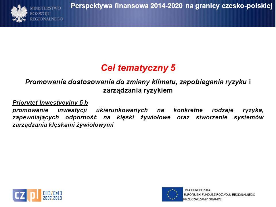 Perspektywa finansowa 2014-2020 na granicy czesko-polskiej