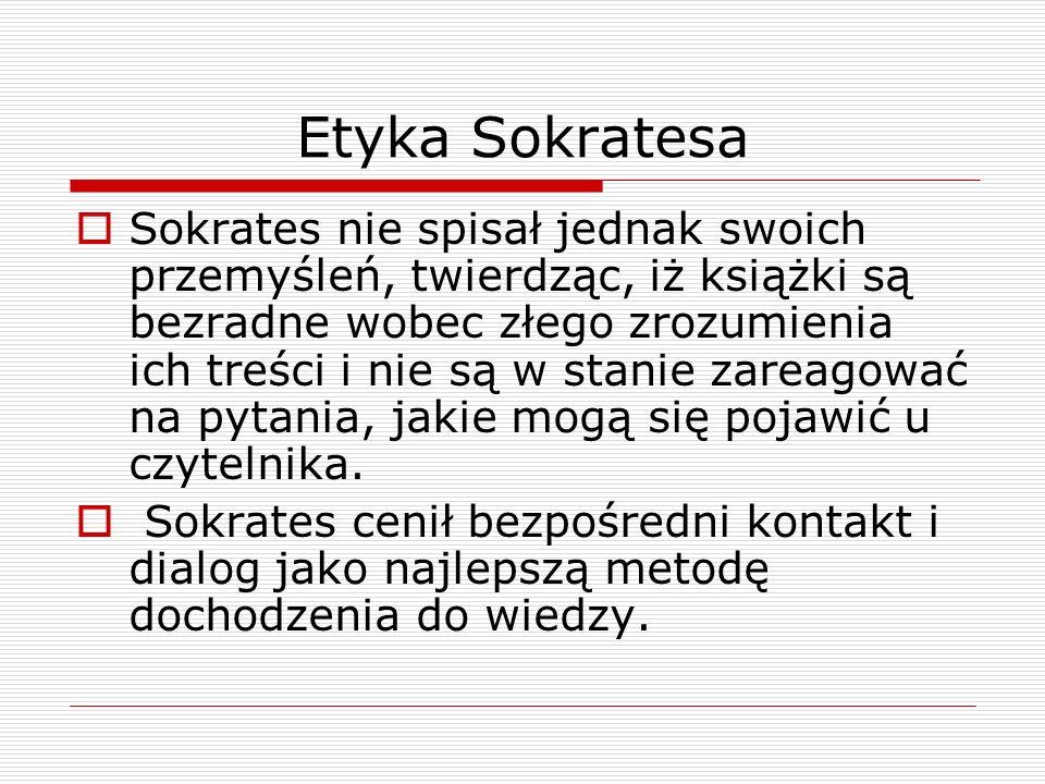 Etyka Sokratesa